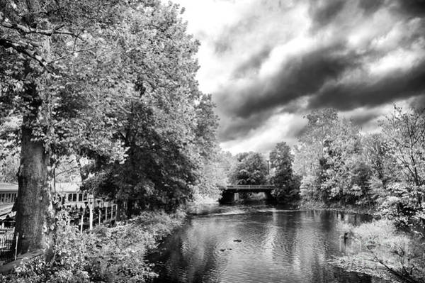 Photograph - Clouds Over The Raritan River by John Rizzuto