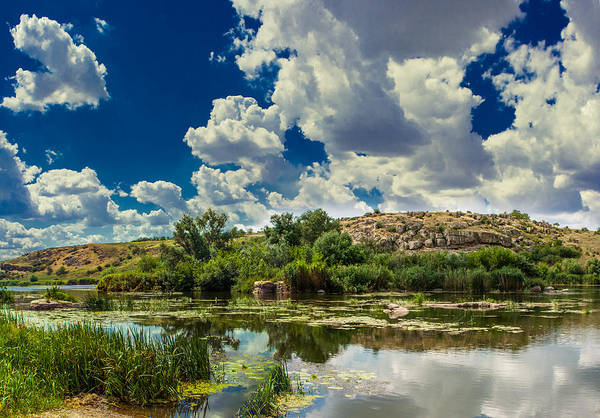 Photograph - Clouds Over The River by Dmytro Korol