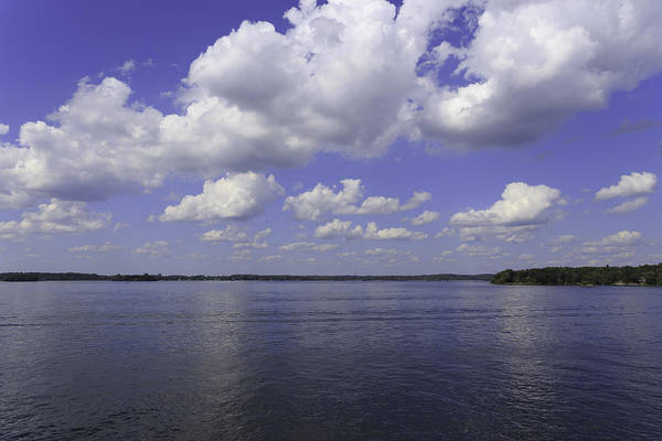 Wall Art - Photograph - Clouds Over The River by Josef Pittner