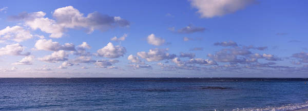 Peacefulness Photograph - Clouds Over The Sea, Anguilla by Panoramic Images