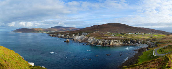 Moorland Photograph - Clouds Over The Sea, Atlantic Drive by Panoramic Images