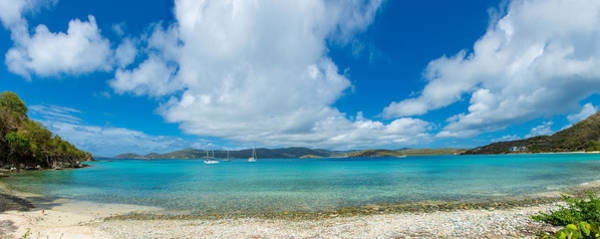 Peacefulness Photograph - Clouds Over The Sea, Coral Bay, St by Panoramic Images