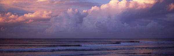Peacefulness Photograph - Clouds Over The Sea, Gold Coast by Panoramic Images