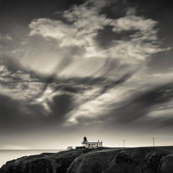 Photograph - Clouds Over Tod Head by Dave Bowman