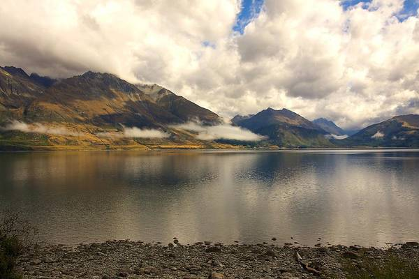 Photograph - Clouds Over Wakatipu #1 by Stuart Litoff