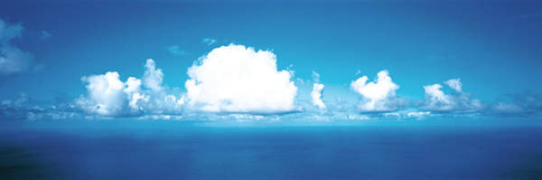 Elevation Photograph - Clouds Over Water by Panoramic Images