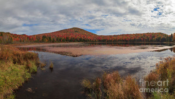 Photograph - Clouds Over Wheeler Pond by Charles Kozierok