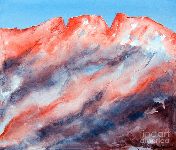 Painting - Clouds Roll In by Kandyce Waltensperger
