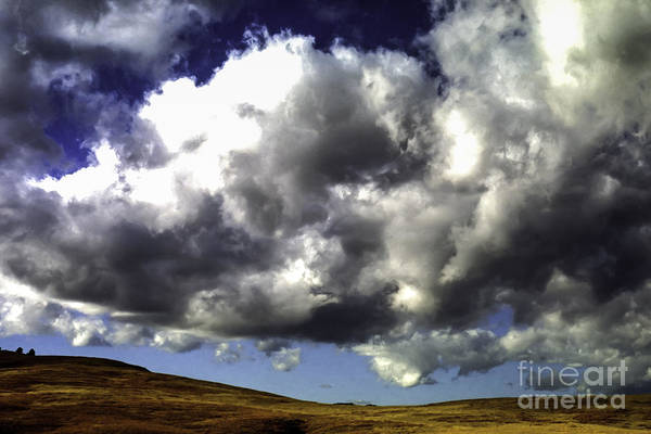 Photograph - Clouds Wind Cave by Thomas R Fletcher