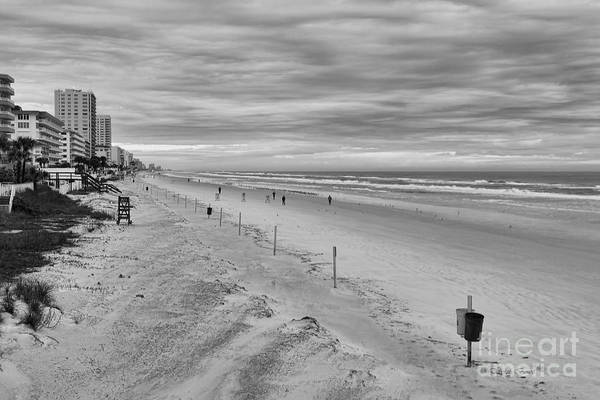 Photograph - Cloudy Beach Morning by Deborah Benoit