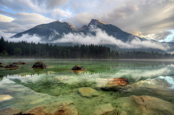 Clear Water Photograph - Cloudy Day by