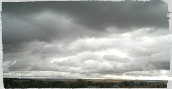Digital Art - Cloudy Day by Susan Kinney