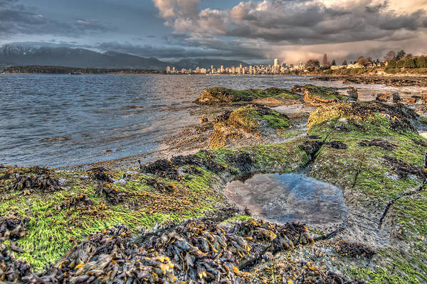 Nikon D5000 Photograph - Cloudy In Downtown Vancouver by James Wheeler