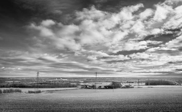 Photograph - Cloudy Landscape by Gary Gillette