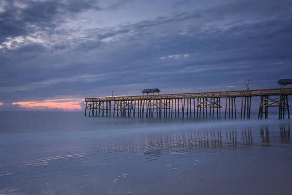 Maria  Struss - Cloudy Morning at the Pier