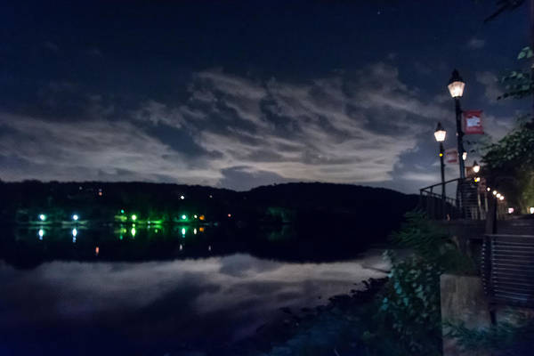 Wall Art - Photograph - Cloudy Night by Ryan Crane