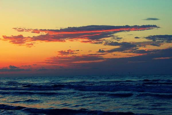 Photograph - Cloudy Pink Ocean by Candice Trimble