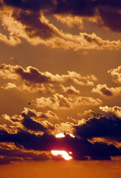 Key West Cloudy Sunset Art Print