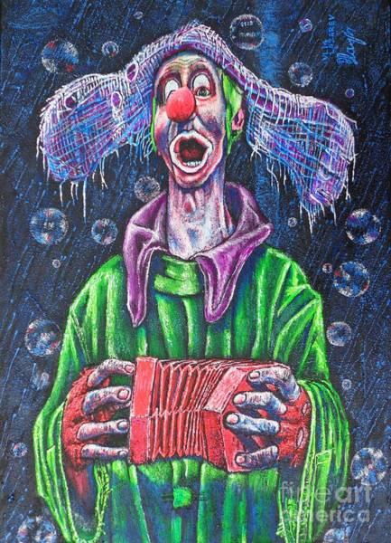 Rain Song Painting - Clown Short by Viktor Lazarev