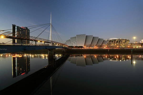 Photograph - Clydeside Reflections  by Grant Glendinning