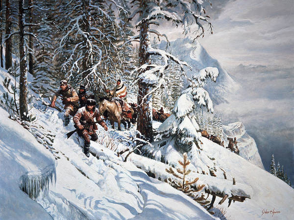 Wall Art - Painting - Clymer Lewis And Clark by Granger