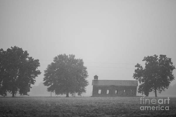 Photograph - Cme Church At Mont Helena Plantation by T Lowry Wilson