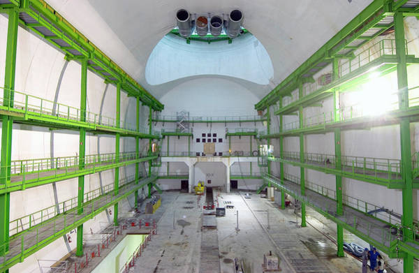 Wall Art - Photograph - Cms Detector Hall by Maximilien Brice, Cern/science Photo Library