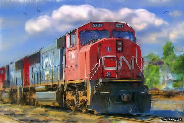 Ken Morris Digital Art - Cn 5707 by Ken Morris