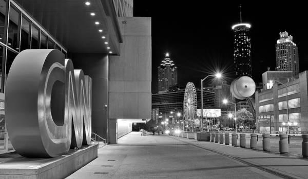 Wall Art - Photograph - Cnn Atlanta Headquarters by Frozen in Time Fine Art Photography