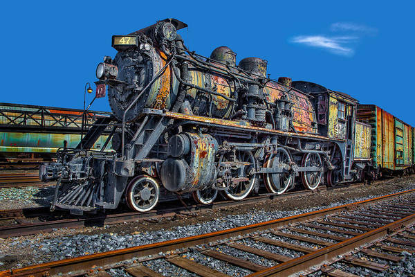 Canadian National Railway Photograph - Cnr Number 47 by Susan Candelario