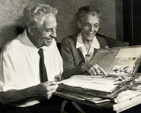 Photograph - Coach Alonzo Stagg by Underwood Archives