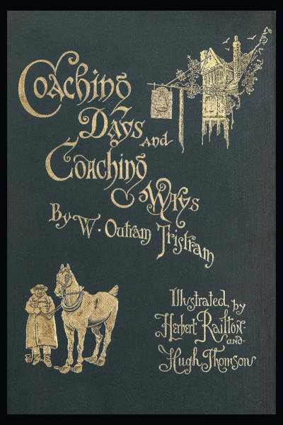 Photograph - Coaching Days And Coaching Ways by Jack R Perry