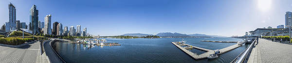 Photograph - Coal Harbour 360 Degree by Ross G Strachan