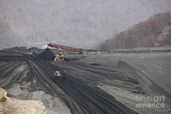 Photograph - Coal Impoundment Dam by Jim West