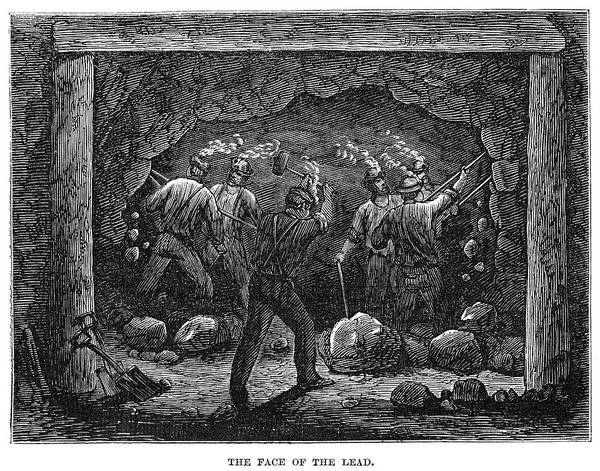Painting - Coal Mine, 1867 by Granger