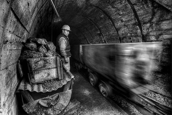 Mine Photograph - Coal Mine by Emine Basa