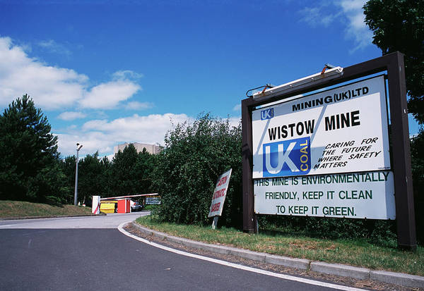 Fossil Fuel Photograph - Coal Mine Entrance by Garry Watson/science Photo Library