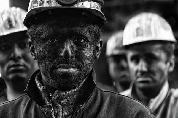 Mine Photograph - Coal Mine Workers...3 by Yavuz Sariyildiz