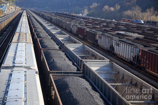 Photograph - Coal Trains by Jim West