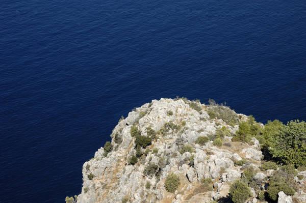 Photograph - Coast And Deep Blue Sea by Matthias Hauser