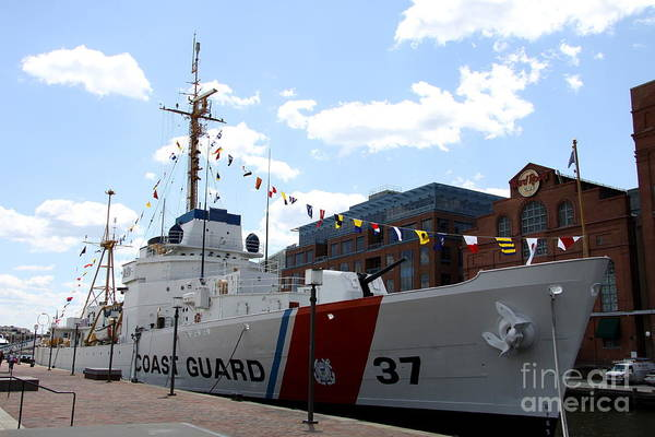 Wall Art - Photograph - Coast Guard 37  by Christiane Schulze Art And Photography