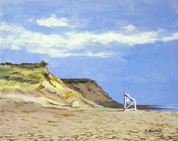 Wall Art - Painting - Coast Guard Beach Eastham Cape Cod Massachusetts by Christine Hopkins