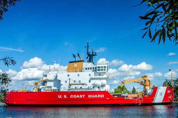 Wall Art - Photograph - Coast Guard Cutter Mackinaw by Bill Gallagher
