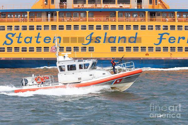 Photograph - Coast Guard Response Boat-medium I by Clarence Holmes