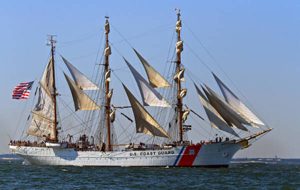 Photograph - Coast Guard Ship Eagle by Jerry Gammon