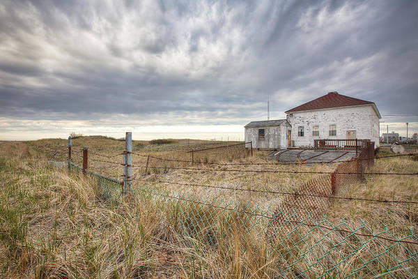 Coast Guard House Photograph - Coast Guard Station by Eric Gendron