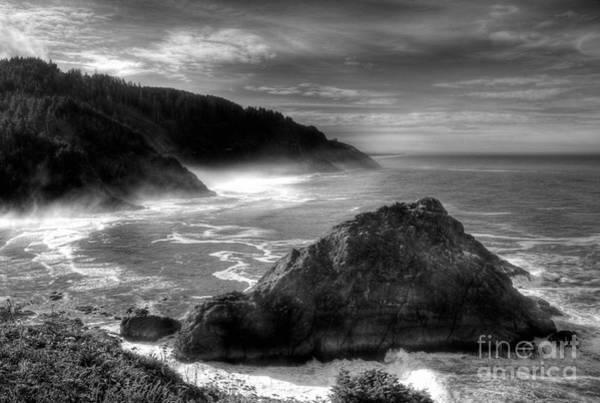 Photograph - Coast Of Dreams 7 Bw by Mel Steinhauer