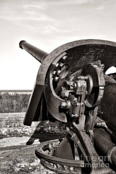 Armament Photograph - Coastal Artillery by Olivier Le Queinec