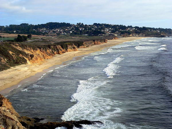 Photograph - Coastal California Beach by Jeff Lowe