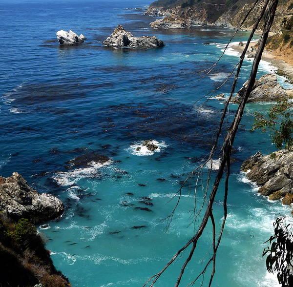Photograph - Coastal California Seascape by Jeff Lowe